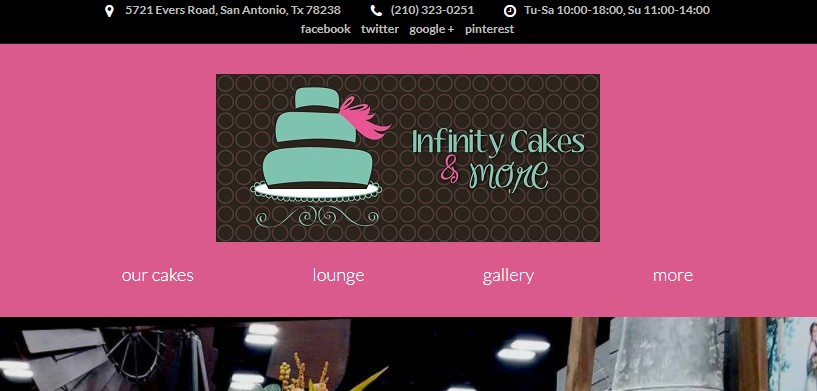 Infinity Cakes & More