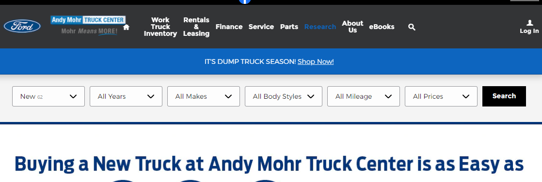 Andy Mohr Truck Center Inc.