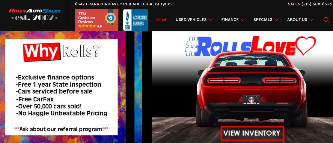 Roll's Auto Sales