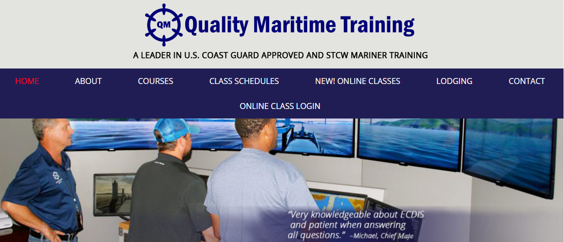 Quality Maritime Training