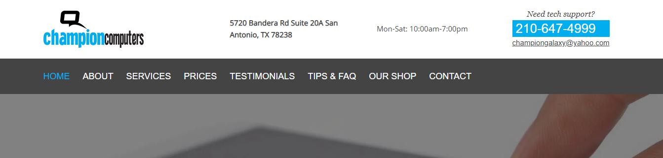 quality computer repair shops in Houston, TX