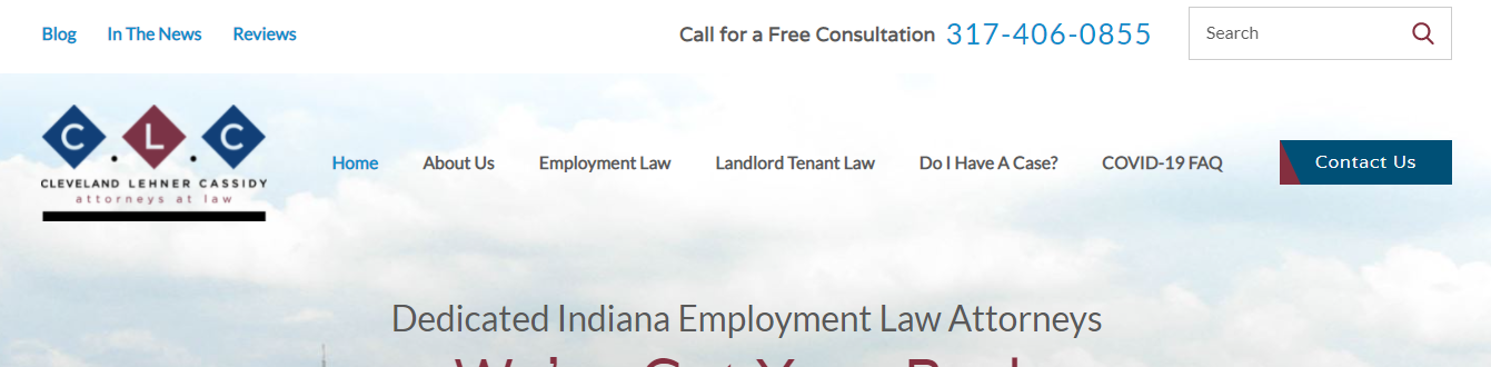 dedicated employment law office in Indianapolis, IN