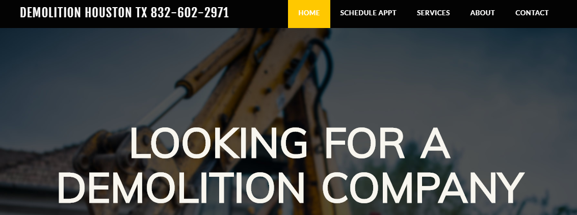 Demolition Houston TX