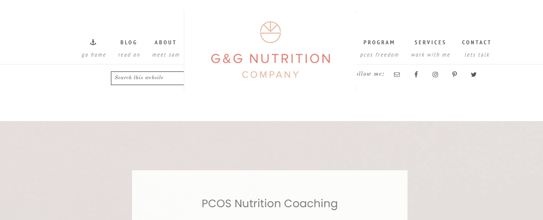 G&G Nutrition Co.