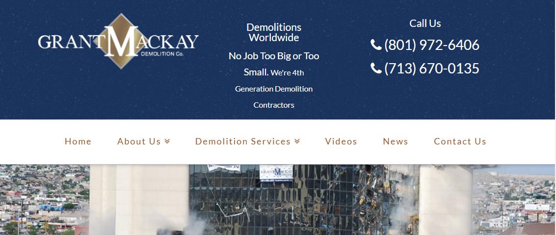 Grant Mackay Demolition Co