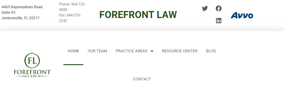 Forefront Law