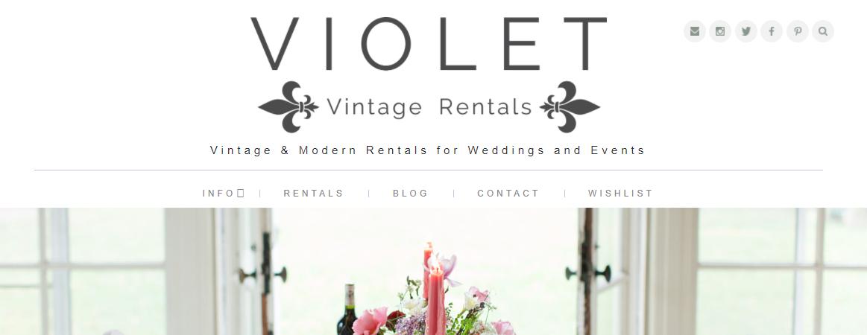Violet Vintage Rentals
