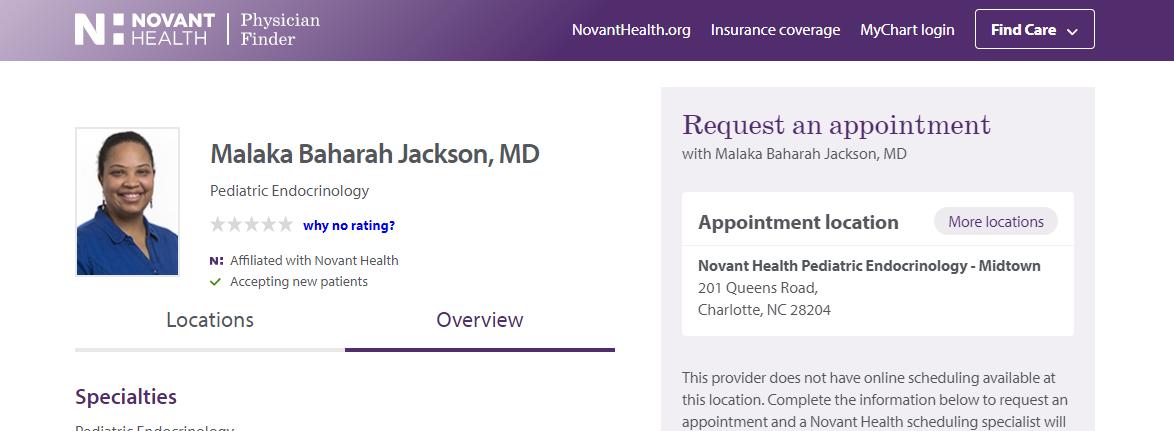 Malaka Baharah Jackson, MD