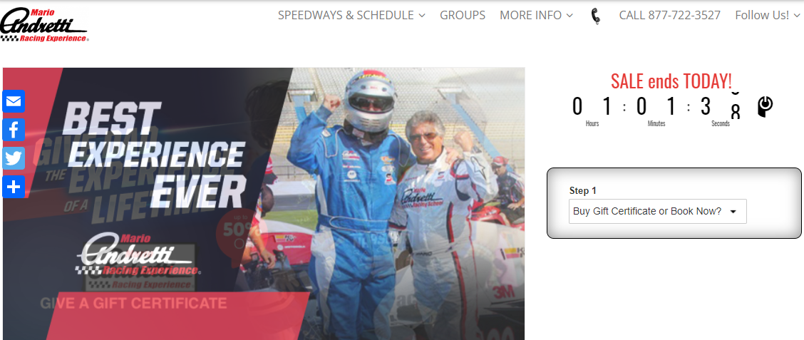 Mario Andretti Racing Expericne