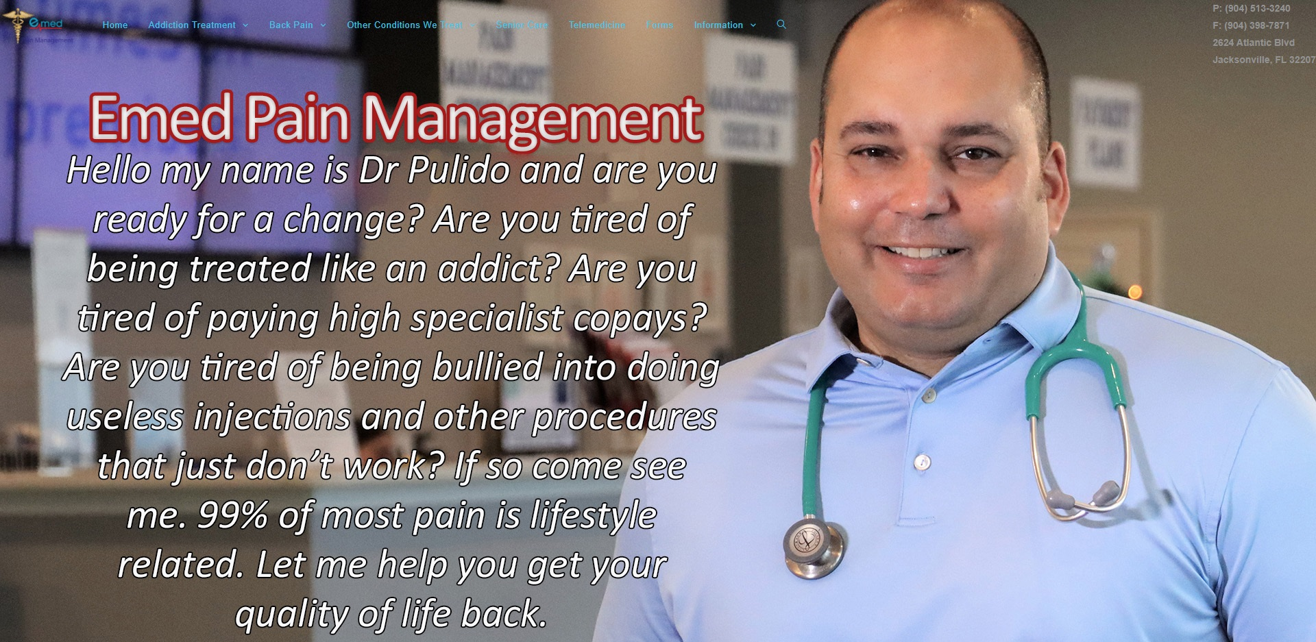 The Best Pain Management Doctors in Jacksonville, FL