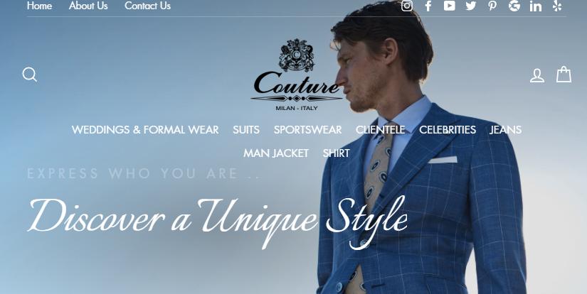 Couture Uomo
