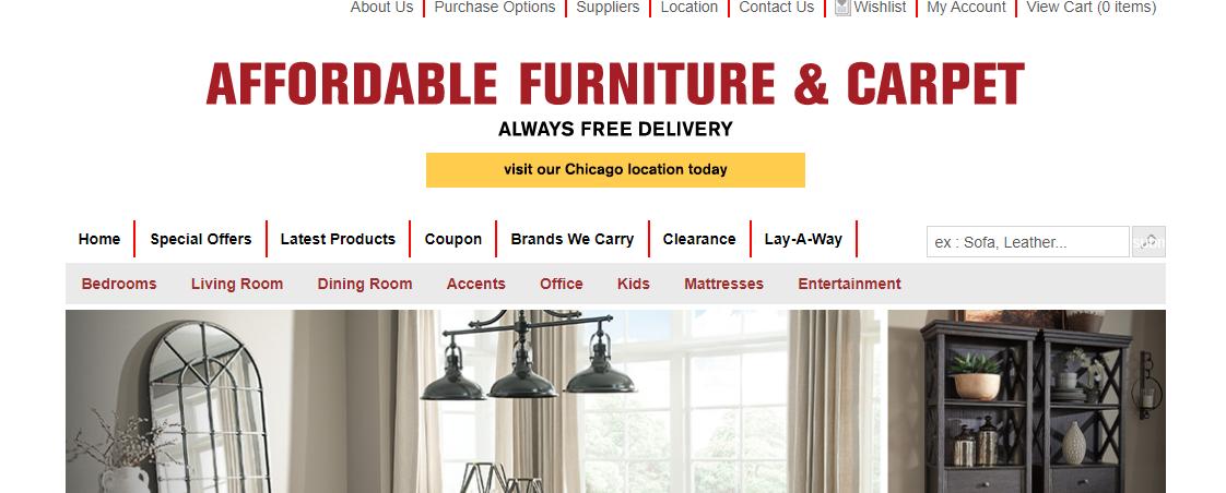 Affordable Furniture & Carpet