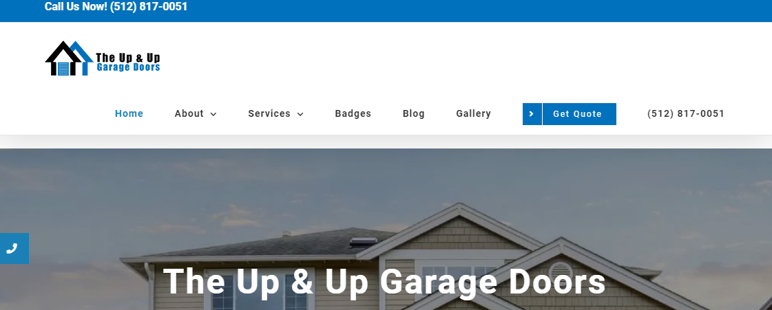 The Up and Up Garage Doors