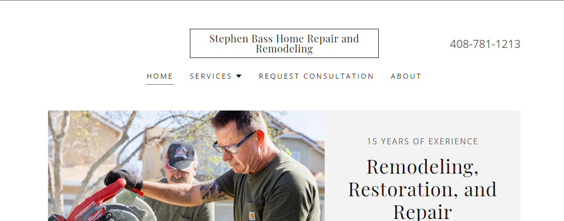 Stephen Bass Home Repair and Remodeling