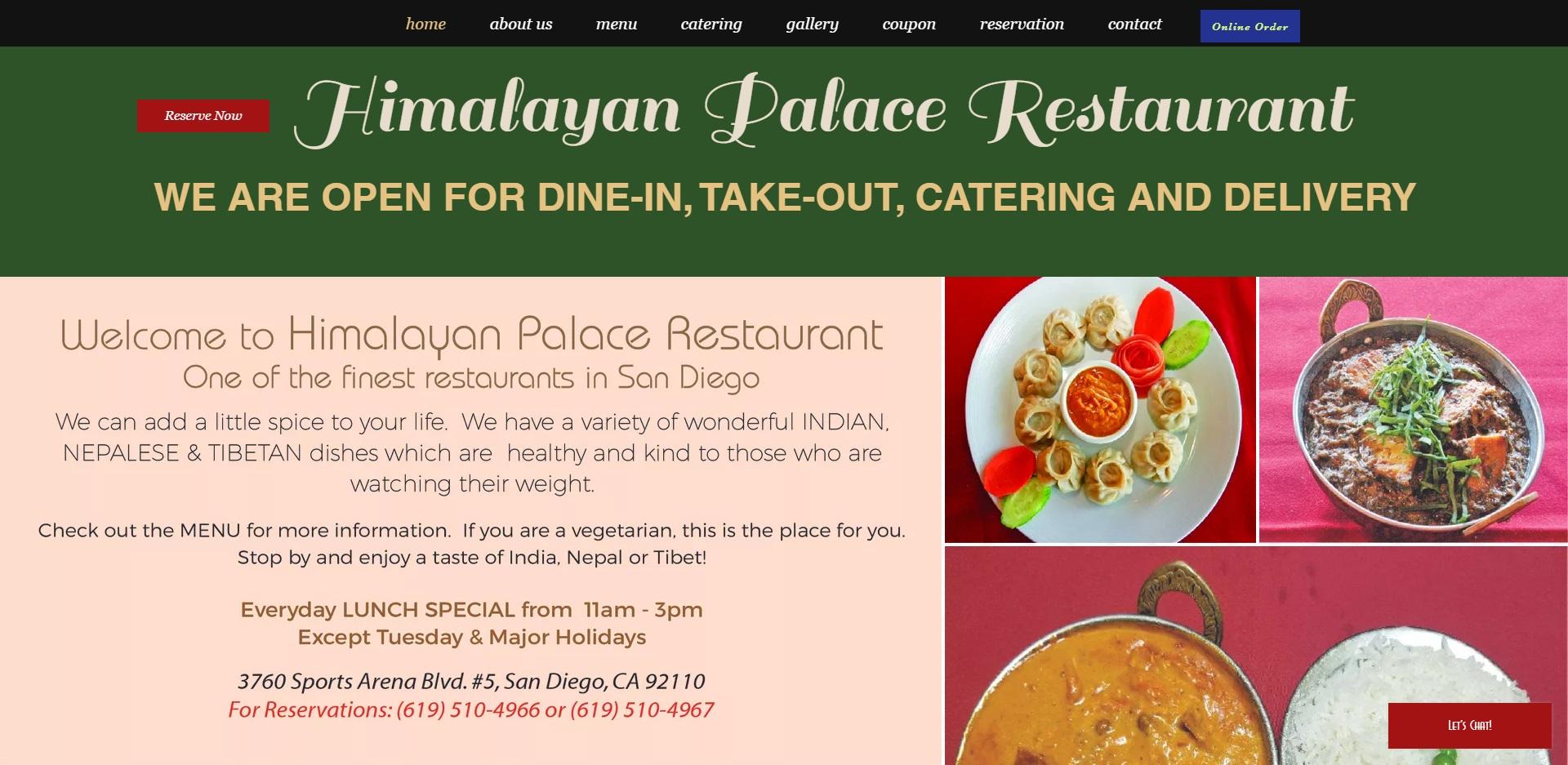 Best Nepalese Restaurants in San Diego, CA