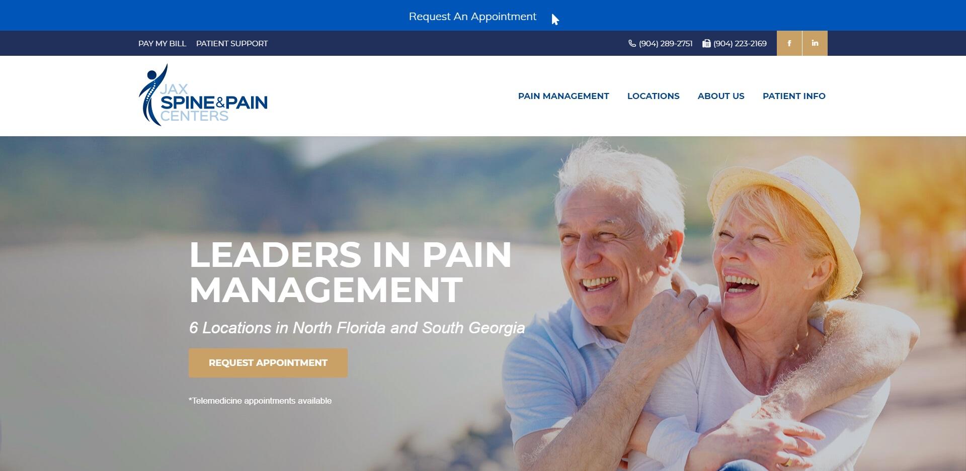 Jacksonville, FL Best Pain Management Doctors
