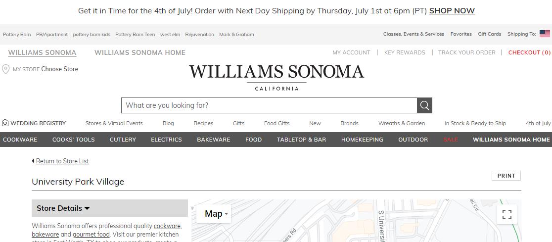 Williams- Sonoma