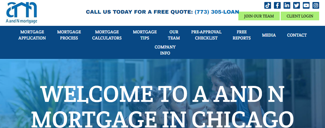 A and N Mortgage