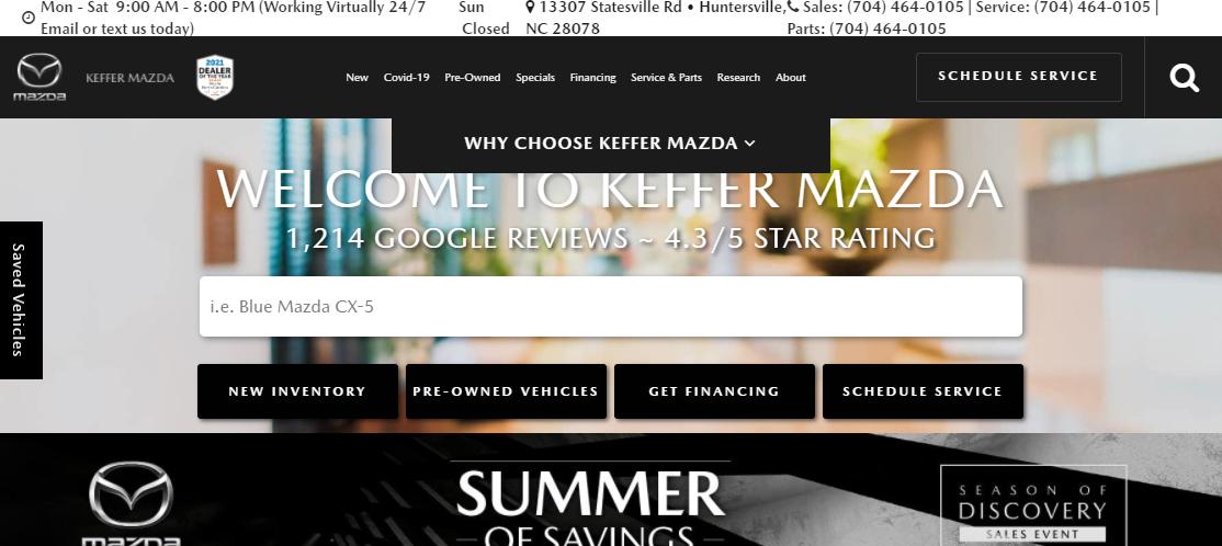 Keffer Mazda