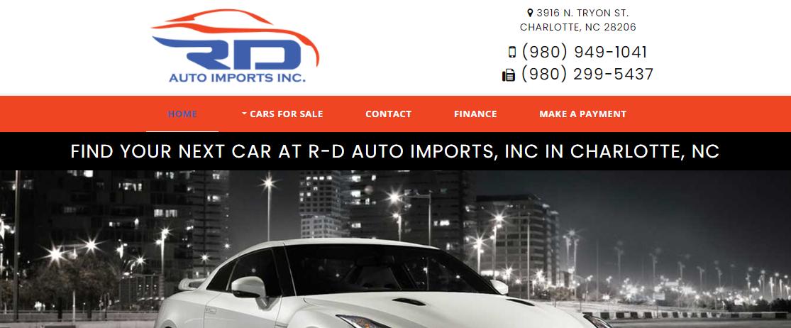 RD Auto-Imports, Inc.