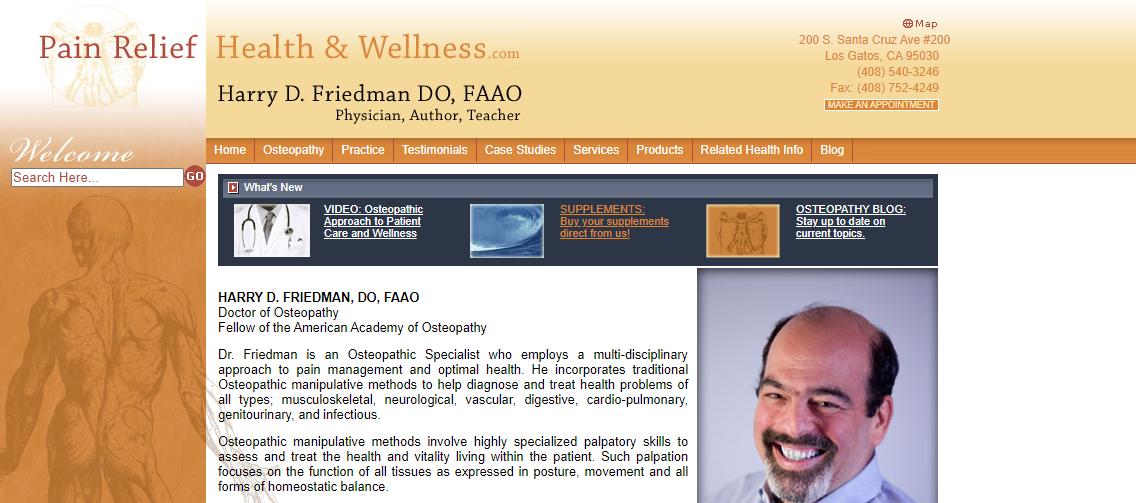 Harry D. Friedman DO, FAAO