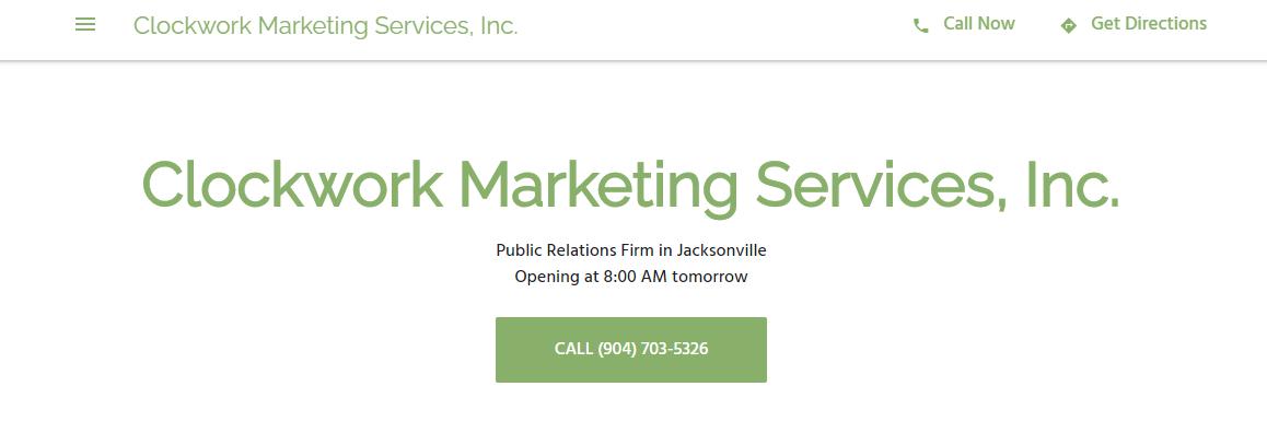 Clockwork Marketing Services, Inc.