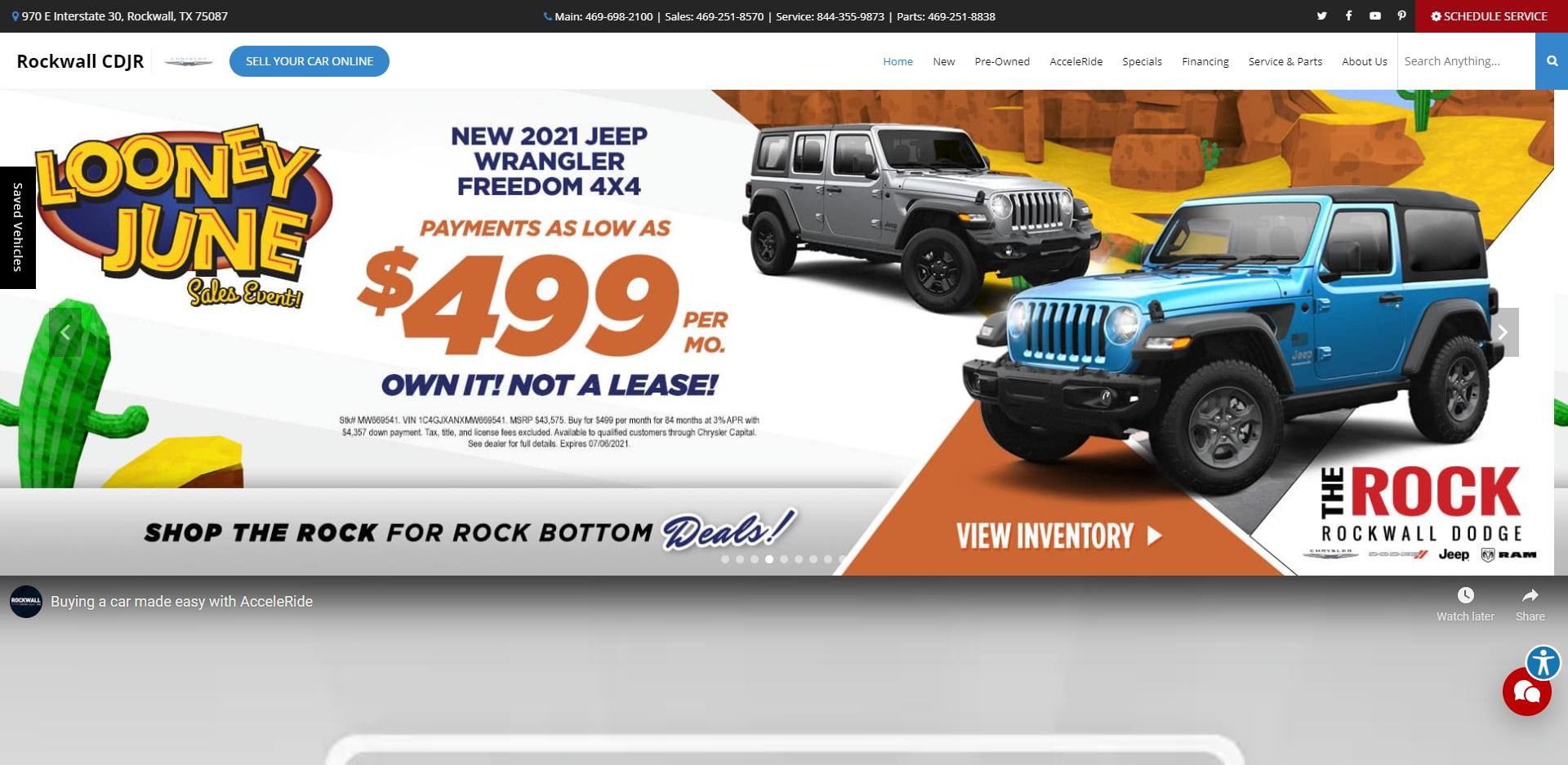 Dallas's Best Jeep Dealers