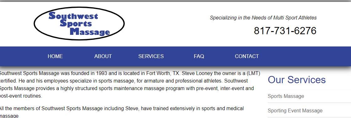 Southwest Sports Massage