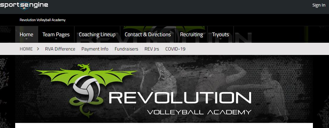 Revolution Volleyball Academy