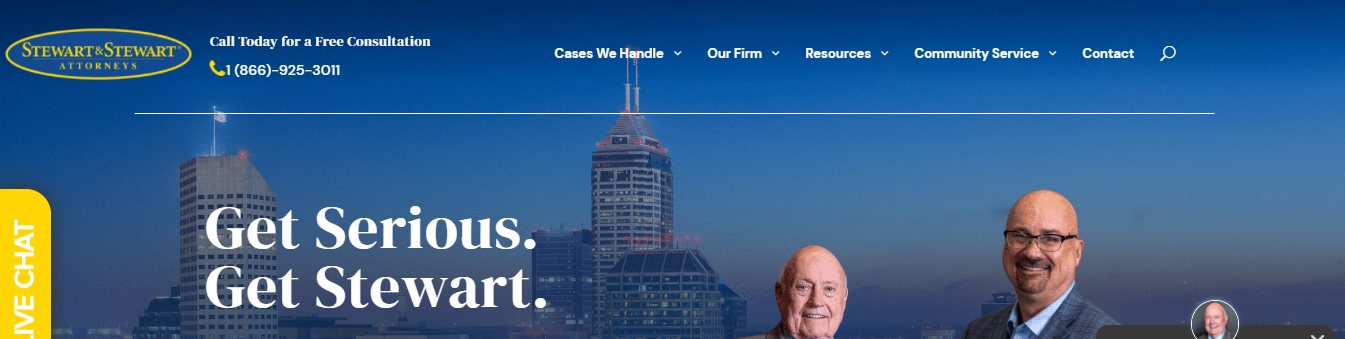 veteran personal injury lawyers in Indianapolis, IN