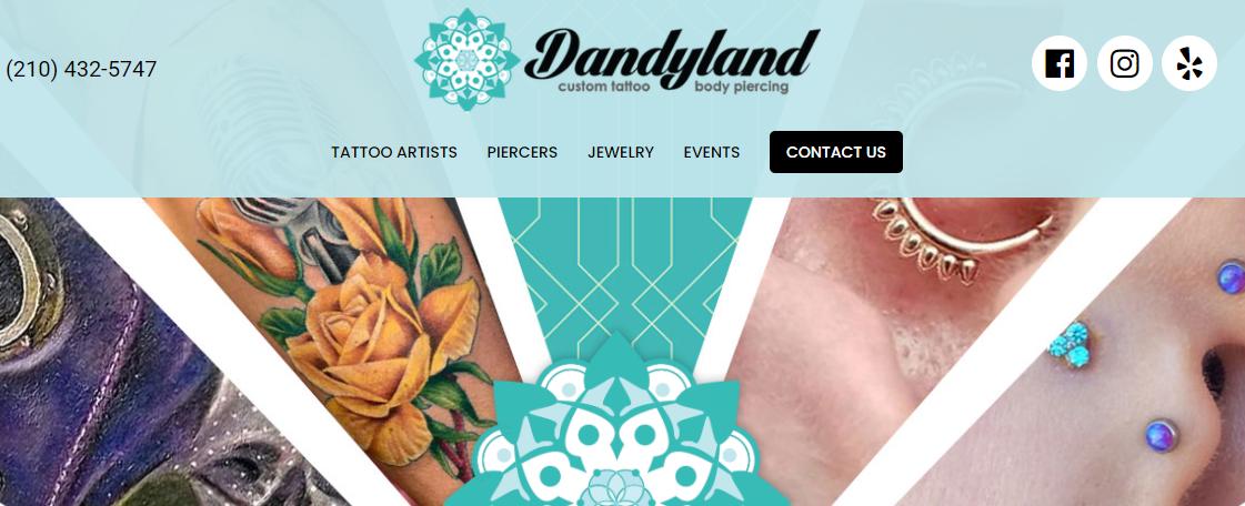 Dandyland Custom Tattoo and Professional Body Piercing