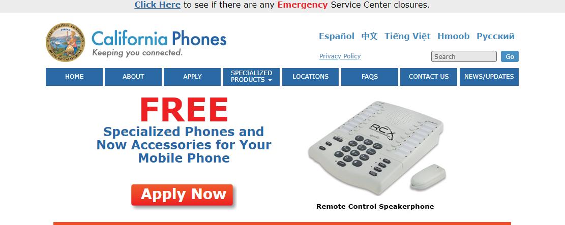 California Phones