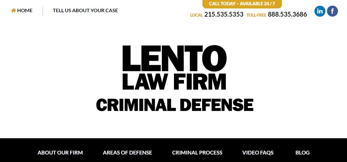 Lento Law Firm