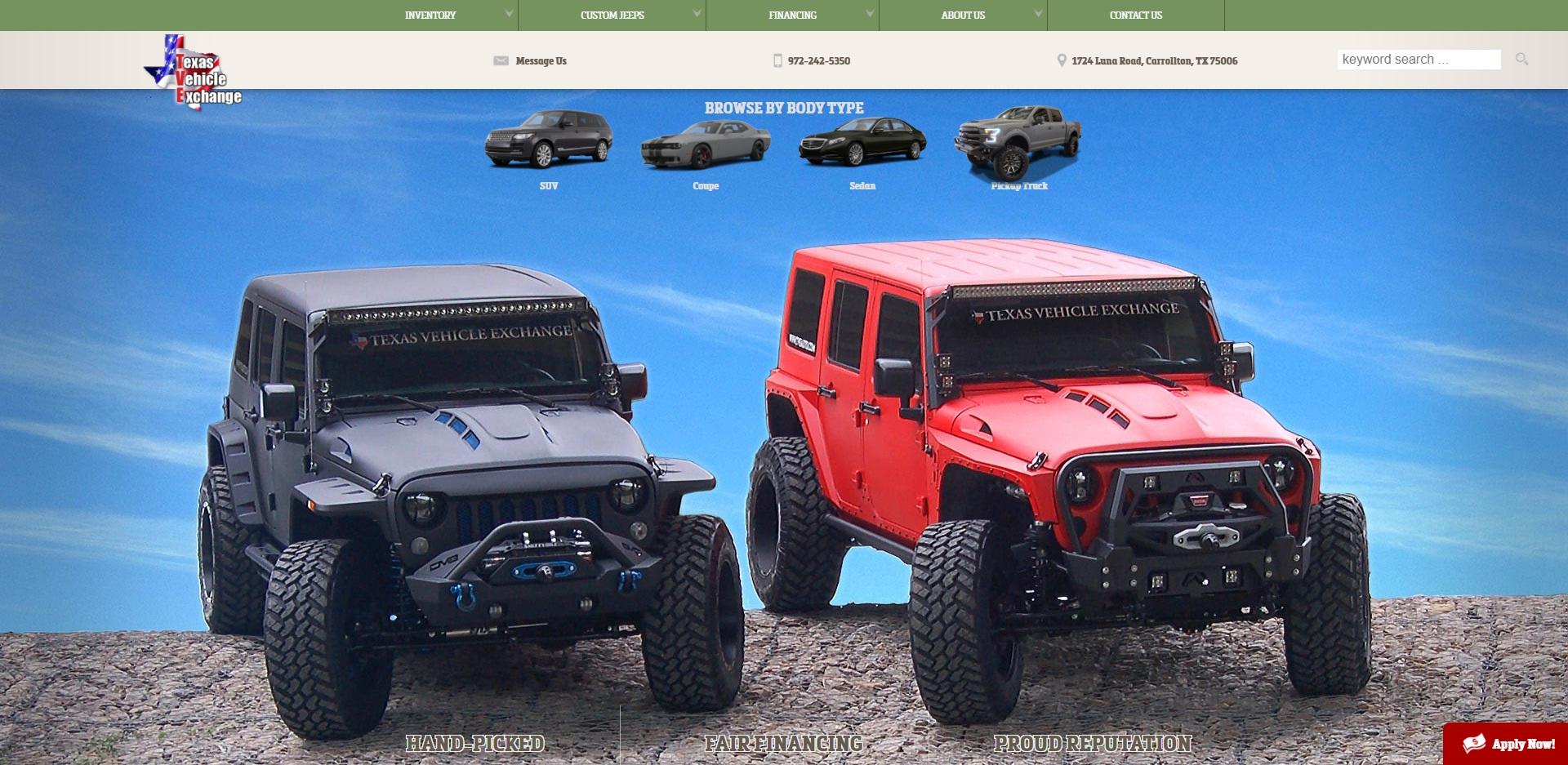Best Jeep Dealers in Dallas