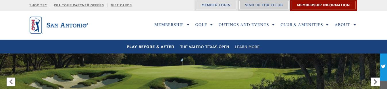 championship golf courses in San Antonio, TX