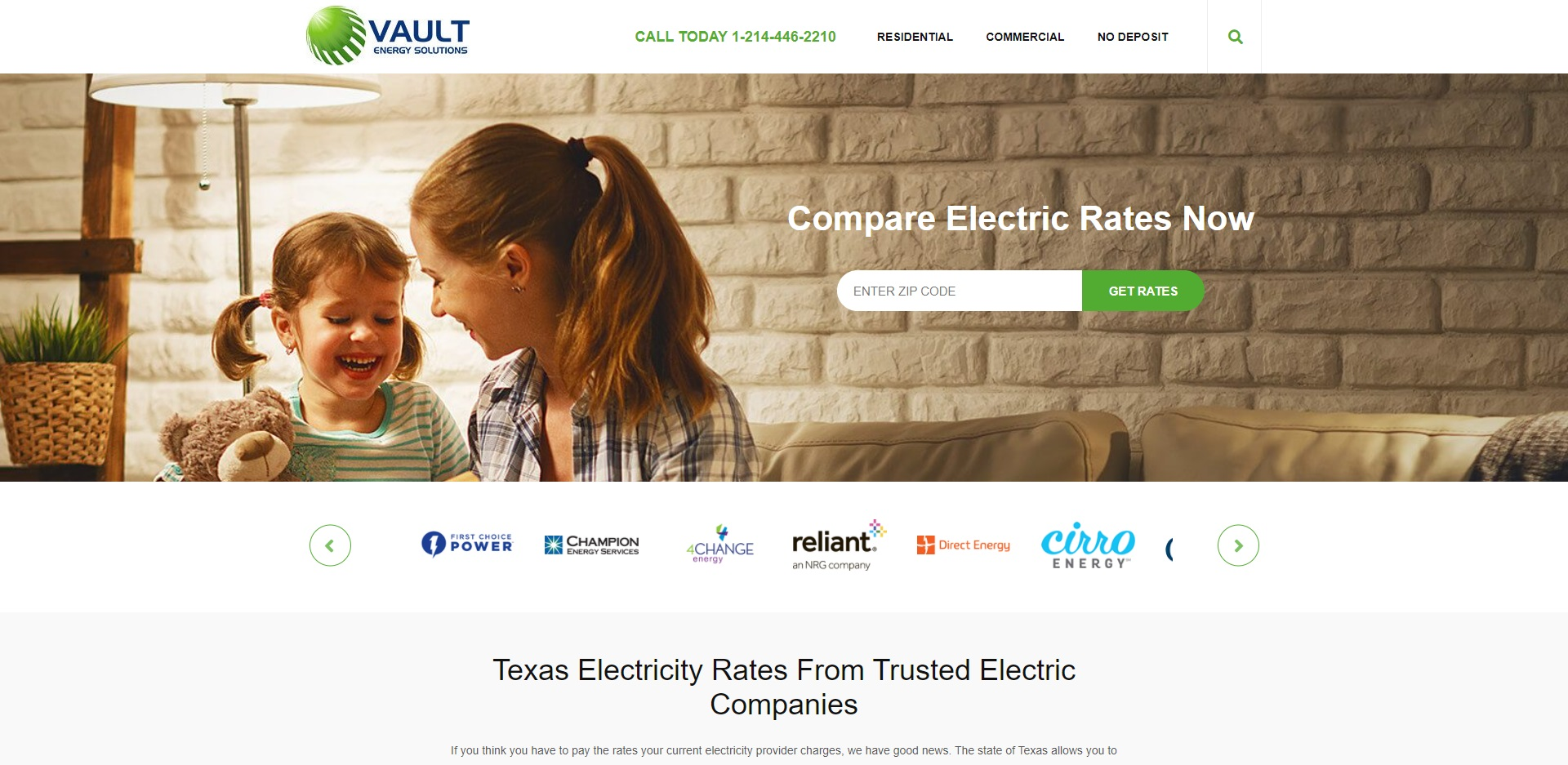 Dallas's Best Electricity Providers