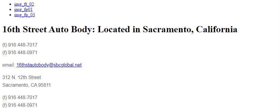 Cost-Effective Auto Body Shops in Sacramento