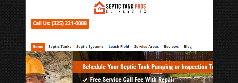 Dependable Septic Tank Services in El Paso