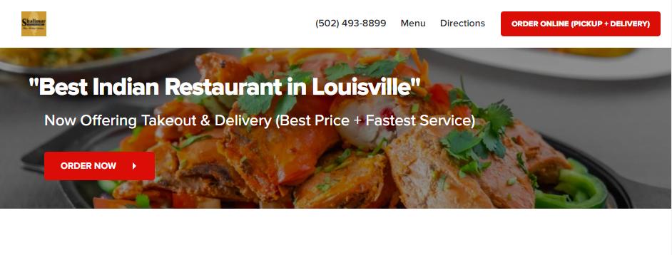 Reputable Indian Restaurants in Louisville