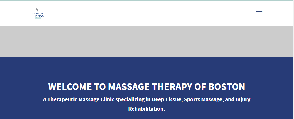 Licensed Massage Therapy in Boston