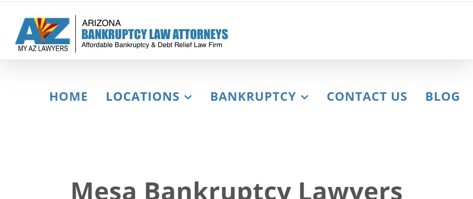 Professional Bankruptcy Attorneys in Mesa