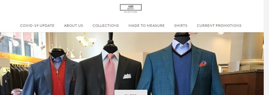 Top Men's Clothing in Boston, MA
