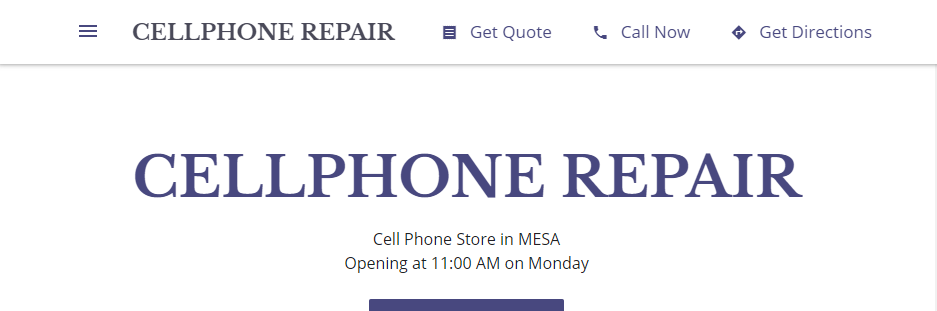 Top Cellphone Repair in Mesa, AZ