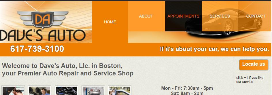 Professional Mechanic Shops in Boston