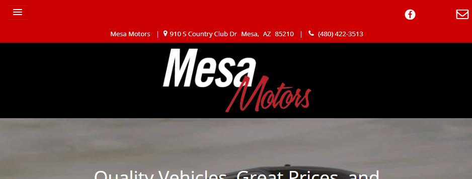 Professional Used Car Dealers in Mesa