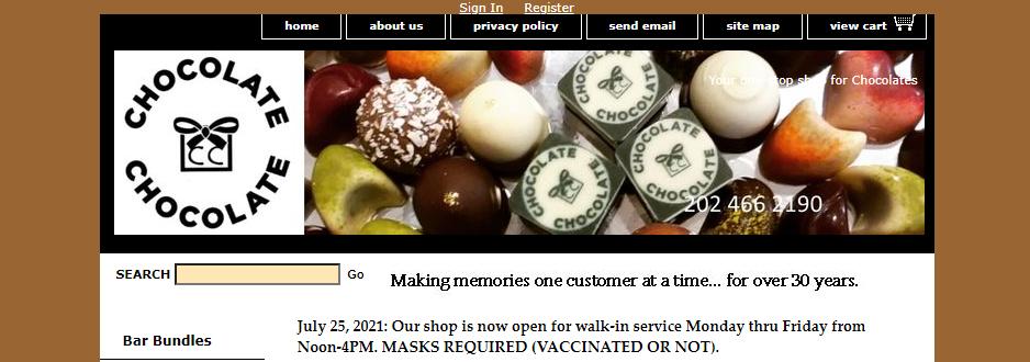 Tasty Chocolate Shops in Washington