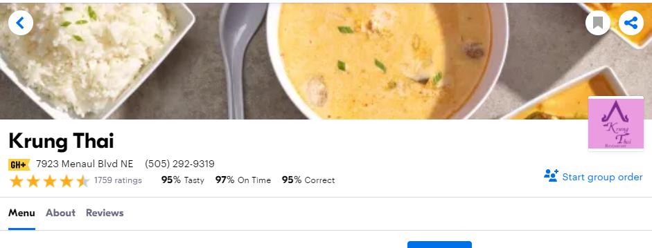 Tasty Thai Restaurants in Albuquerque