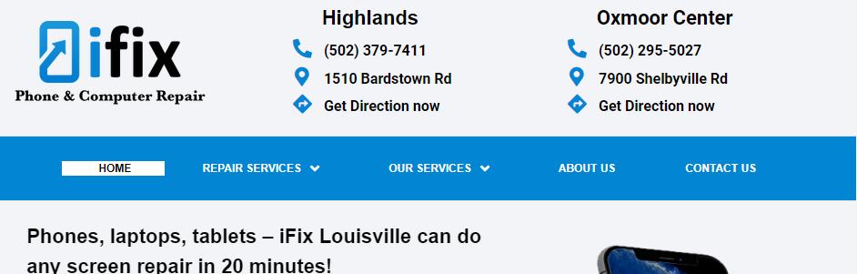 Top Cell Phone Repair in Louisville, KY
