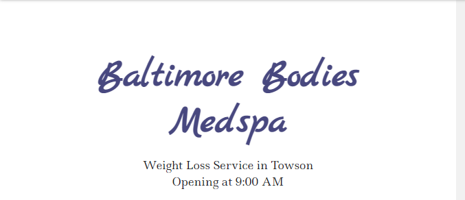 efficient Weight Loss Centres in Baltimore
