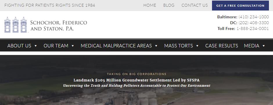 Adept Medical Malpractice Attorneys in Baltimore